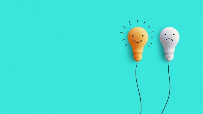 Happy Lightbulb vs Sad Lightbulb